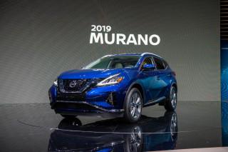 2019 Nissan Murano, 2018 LA Auto Show