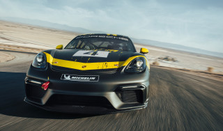New Porsche 718 Cayman GT4 revealed in race car guise