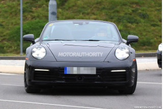 2019 Porsche 911 Cabrio spy shots, Gallery 1