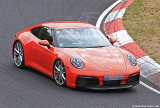 2020 Porsche 911 spy shots and video