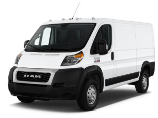 "2019 Ram ProMaster 1500 Low Roof 136"" WB Angular Front Exterior View"