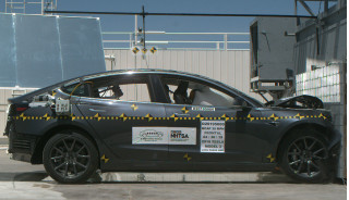 Tesla Model 3 all-wheel-drive sedan nets perfect safety score from federal testers