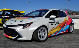 Toyota surprises at SEMA show with 850-horsepower, nitrous-fed Corolla hatch