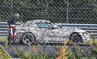 Toyota Supra prototype crashes while testing on the 'Ring