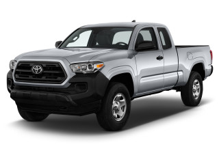 2019 Toyota Tacoma 2WD SR Access Cab 6' Bed I4 AT (GS) Angular Front Exterior View