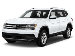 2019 Volkswagen Atlas 3.6L V6 S 4MOTION Angular Front Exterior View