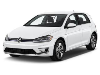 2019 Volkswagen e-Golf 4-Door SEL Premium Angular Front Exterior View