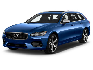 2019 Volvo V90 T5 FWD R-Design Angular Front Exterior View