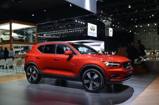 2019 Volvo XC40, 2017 Los Angeles Auto Show