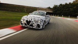 2020 Alfa Romeo Giulia GTA prototype