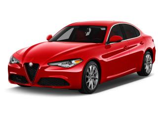 2020 Alfa Romeo Giulia RWD Angular Front Exterior View