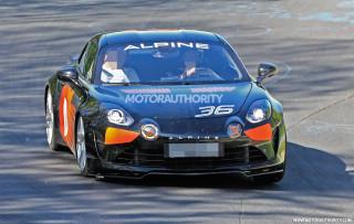 2020 Alpine A110 Sport spy shots - Image via S. Baldauf/SB-Medien