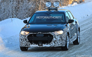 2020 Audi A1 Allroad spy shots
