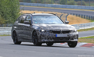2020 BMW 3-Series Sports Wagon spy shots and video