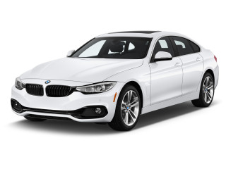 2020 BMW 4-Series 430i Gran Coupe Angular Front Exterior View