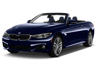 2020 BMW 4-Series 430i xDrive Convertible Angular Front Exterior View