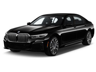 2020 BMW 7-Series 740i xDrive Sedan Angular Front Exterior View