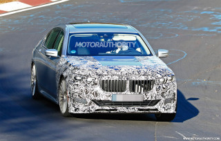 2020 BMW Alpina B7 spy shots