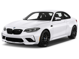 2020 BMW M2 Competition Coupe Angular Front Exterior View