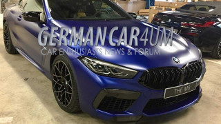 2020 BMW M8 leak - Image via German Car Forum