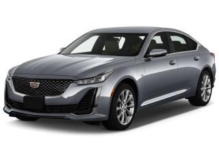 2020 Cadillac CT5 4-door Sedan Premium Luxury Angular Front Exterior View