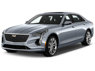 2020 Cadillac CT6 4-door Sedan 4.2L Turbo Platinum Angular Front Exterior View