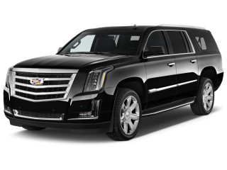 2020 Cadillac Escalade 2WD 4-door Luxury Angular Front Exterior View