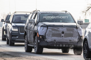 2020 Cadillac Escalade spy shots