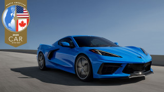 2020 Chevrolet Corvette Stingray named winner of the 2020 NACOTY Awards' Car category