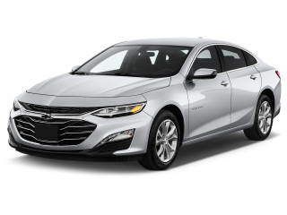 2020 Chevrolet Malibu 4-door Sedan LT Angular Front Exterior View