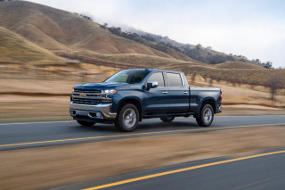 2020 Chevrolet Silverado with turbodiesel engine