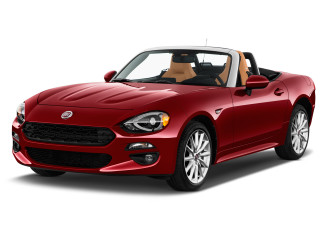 2020 FIAT 124 Spider Lusso Convertible Angular Front Exterior View