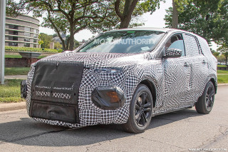 2020 Ford electric SUV spy shots
