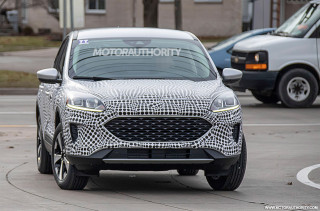 2020 Ford Escape (Kuga) spy shots - Image via S. Baldauf/SB-Medien