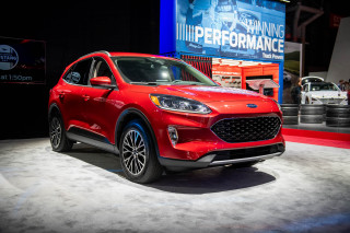 2020 Ford Escape, 2019 New York International Auto Show