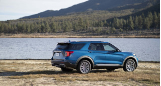 2020 Ford Explorer rated as high as 24 mpg combined