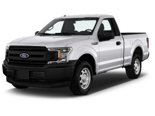 2020 Ford F-150 XL 2WD Reg Cab 6.5' Box Angular Front Exterior View