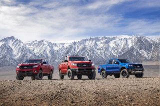 Built Ford tough, tougher, or toughest? Ranger pickup adds available off-road hardware