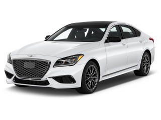 2020 Genesis G80 3.3T Sport AWD Angular Front Exterior View