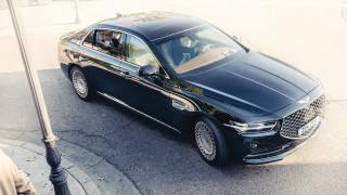 2020 Genesis G90 debuts in Korea with major facelift