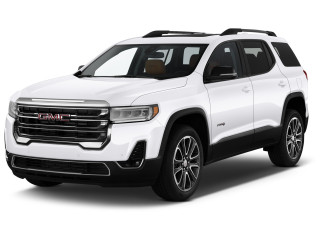 2020 GMC Acadia AWD 4-door AT4 Angular Front Exterior View