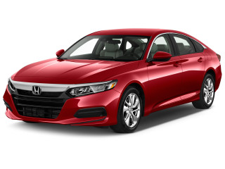 2020 Honda Accord LX 1.5T CVT Angular Front Exterior View