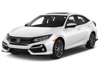 2020 Honda Civic Sport Manual Angular Front Exterior View
