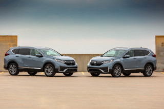 2020 Honda CR-V vs. 2020 Honda CR-V Hybrid compared: Crossover SUV cross-up