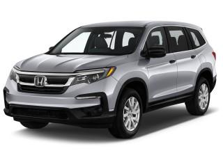 2020 Honda Pilot LX AWD Angular Front Exterior View