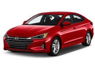 2020 Hyundai Elantra SEL IVT Angular Front Exterior View