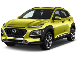 2020 Hyundai Kona Limited DCT FWD Angular Front Exterior View
