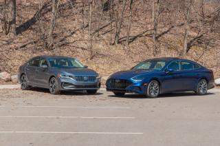 2020 Hyundai Sonata vs. 2020 Volkswagen Passat: Compare Cars