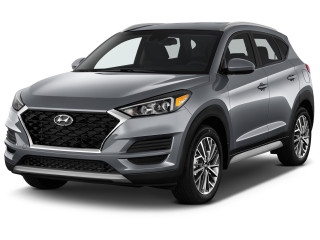 2020 Hyundai Tucson SEL FWD Angular Front Exterior View