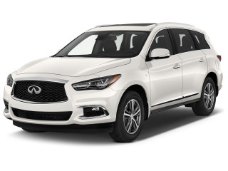 2020 INFINITI QX60 PURE FWD Angular Front Exterior View